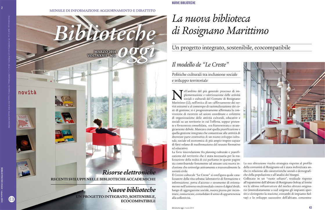 Biblioteche Oggi - volume XXXII - n.2 - marzo 2014