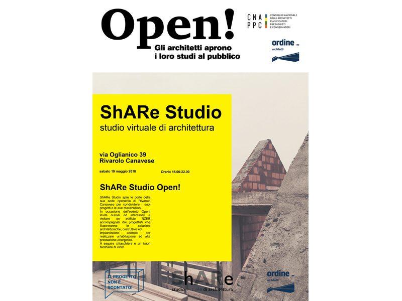 Share studio open studi di architettura aprono al pubblico