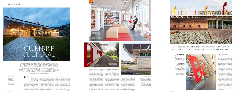 Vivienda y Decoration suplemento El Mercurio Maggio 2014