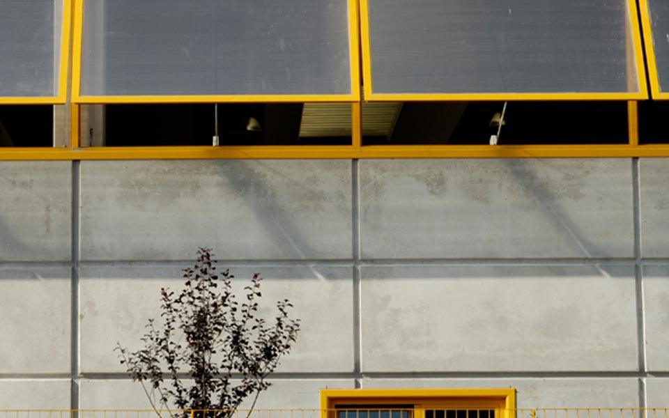 share studio architettura area industriale piano produttivo orbassano