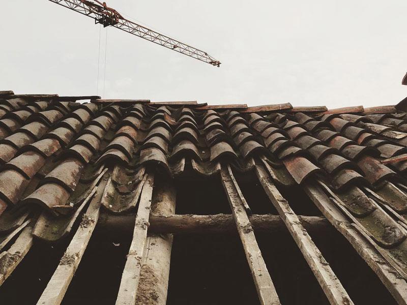 share studio architettura cantiere in corso ristrutturazione cascina