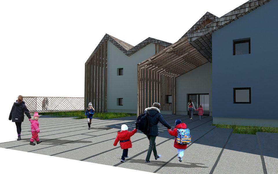 share studio architettura concorso di idee polo scolastico a pont canavese torino