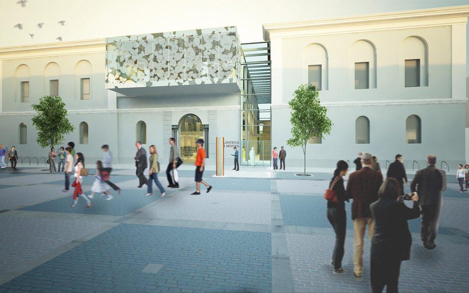 share studio architettura concorso nuova biblioteca monza