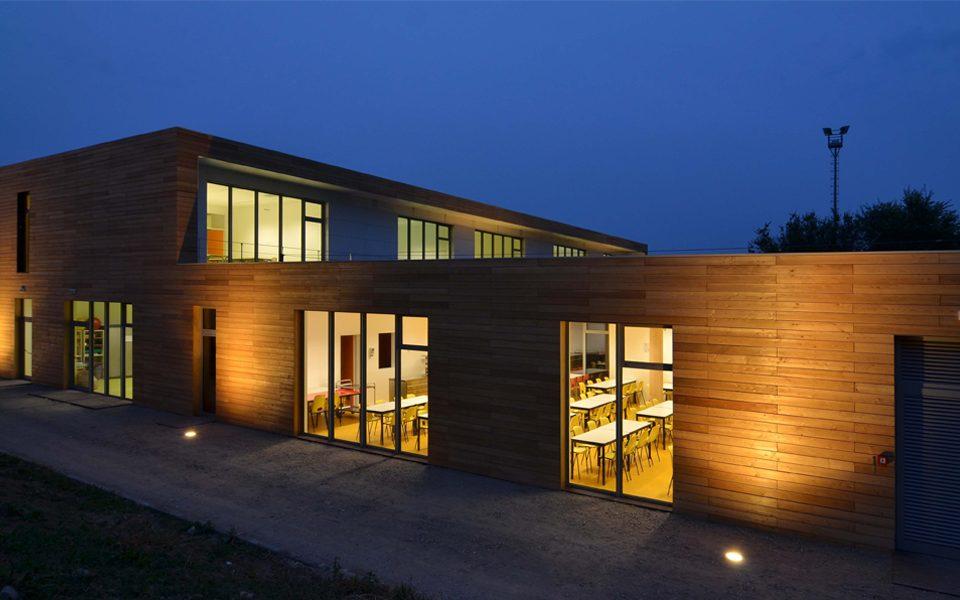 share studio architettura ecoscuola legno olivetti scarmagno