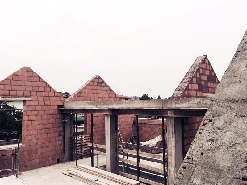 share studio architettura lavori cantiere villa unifamigliare rivarolo