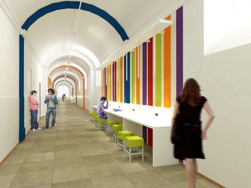 share studio architettura progetto nuovi spazi vittoria international school torino news