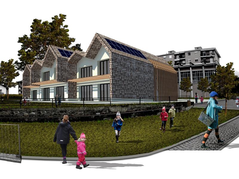 share studio virtuale architettura concorso di idee polo scolastico pont canavese torino